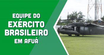 Equipe do Exécito Brasileiro faz reconhecimento em Afuá para ações de Combate ao Covid-19