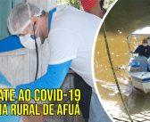 Combate ao Covid-19 nas regionais Carás, Furo dos Botos e Jurupary