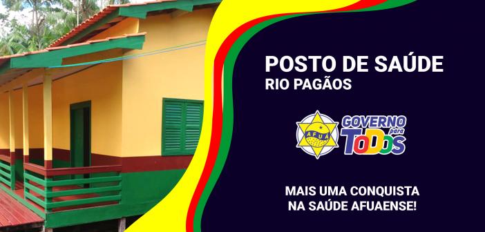 Novo Posto de Saúde – Rio Pagãos