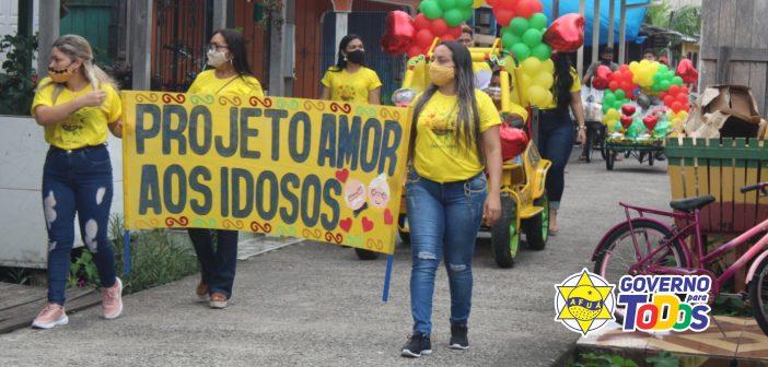 """CRAS realiza o Projeto """"Amor aos Idosos"""""""