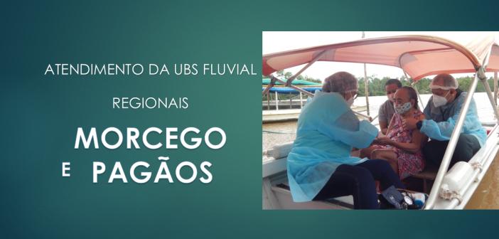 Morcego e Pagãos – Mais duas regionais beneficiadas pelos atendimentos da UBS Fluvial de Afuá