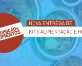 Distribuição de Kits Alimentação e Kits Higiene