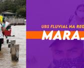 Atendimento da UBS Fluvial na Regional do Marajó