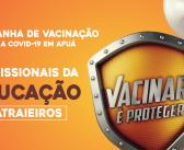 Vacinação contra a Covid-19 para os trabalhadores da educação – Grupo dos catraieiros